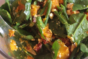 Warm pumpkin salad picture 1