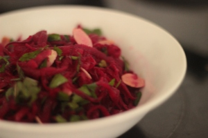 Beetroot and almond salad picture 1