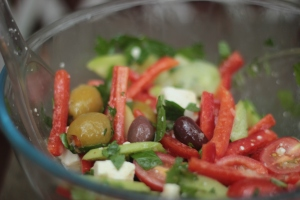 My Greek salad picture 1